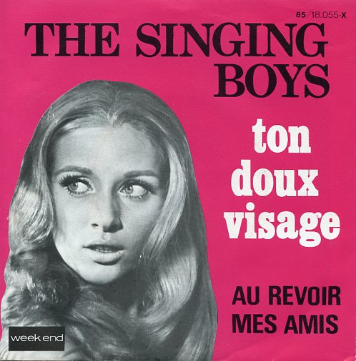 "THE SINGING BOYS ""Ton doux visage"""